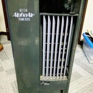 冷温風器 キャスター付き