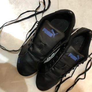 プーマ 運動靴 レディス 24センチ