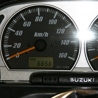 令和記念オマケ付-埼玉発032】6656Km SUZUKI スカイウェイブ250(CJ43A) 希少SSモデル 新品ミラー付 - 売ります・あげます