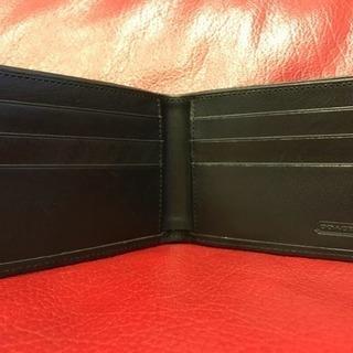 ✳︎[新品]COACH メンズ 二つ折り財布✳︎