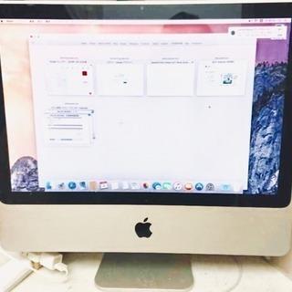 """メモリ増設済み Apple iMac """"Core 2 Duo"""" ..."""