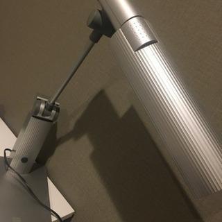 デスク照明(グレー)  【値下げしました1000円→500…
