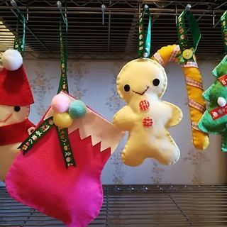 お正月リース&Christmasオーナメント