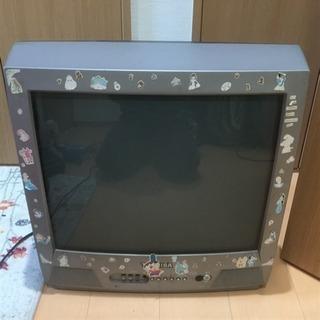 ブラウン管カラーテレビです。