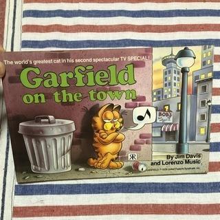 洋書 Garfield on the town ガーフィールド