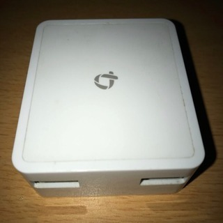 PLANEX 2ポート USB AC充電器 IQOS/電子タバコ...