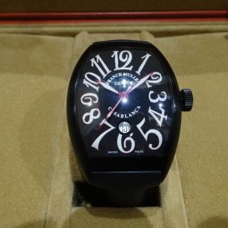newest 048e2 3451a フランクミュラーカサブランカノアールレッド正規代理店品新品同様 (yy)  さくら夙川のアクセサリー《腕時計》の中古・古着あげます・譲ります|ジモティーで不用品の処分