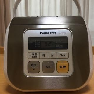 Panasonic電子ジャー炊飯器3合炊き