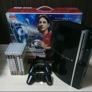 PS3本体 80GB(CECHL00) & コントローラ2台 &...
