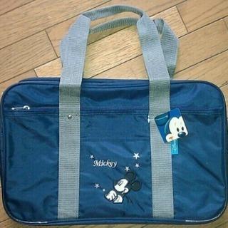 新品 ミッキー♪男女スクールボストンバッグ 高校通学 鞄