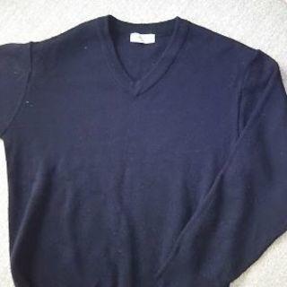 紺色 スクールセーター 160