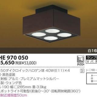 KOIZUMI シーリングライト AHE970050