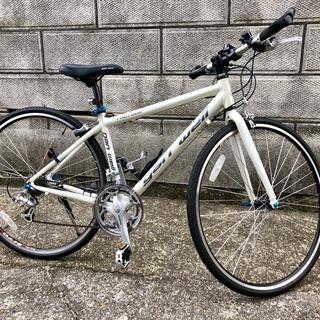 最終価格!! Gan well(ガンウェル) クロスバイク 28インチ