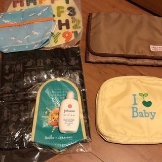 再値下げ◾️出産準備◾️母子手帳 手口拭き オムツ 着替え ケー...