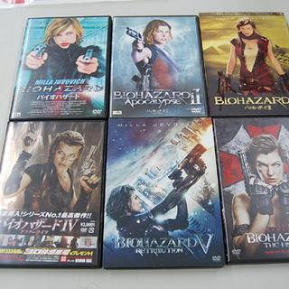 BIOHAZARD/バイオハザード 映画 DVD 6本セット 1...