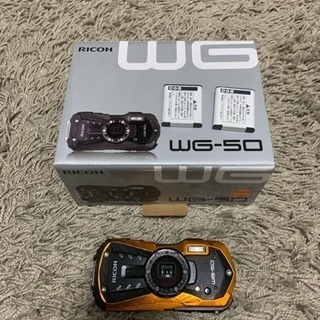RICOH WG50 オレンジ