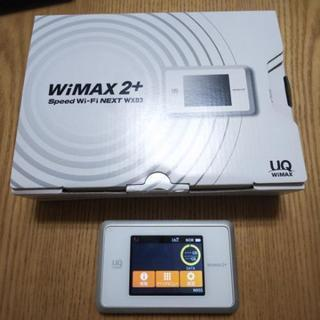 Wimax2+ Speed wifi NEXT WX03 ホワイト