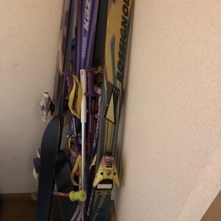 スキー板大量