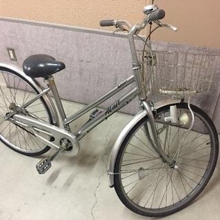 26 自転車 ナショナル製 アルミフレーム 京都市伏見区深草 乗っ...
