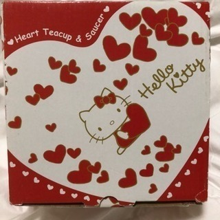 【値下げ済♪】キティちゃんのティーカップ&ソーサー《非売品》