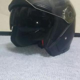 ダブルシールドヘルメットLサイズ
