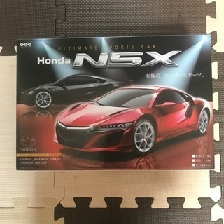 値下げ 新品 HONDA NSX 赤 カーラジコン