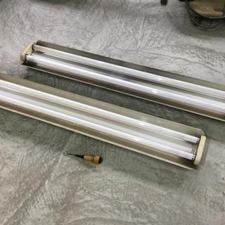 蛍光灯器具40型2灯×2台、中古品...