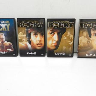 ロッキー 1~4 DVD 4巻セット シルベスター・スタローン ...