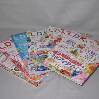 雑誌 LDKエル・ディー・ケイ 6冊