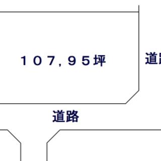 安曇川町青柳・107,34坪・東南角地・売土地