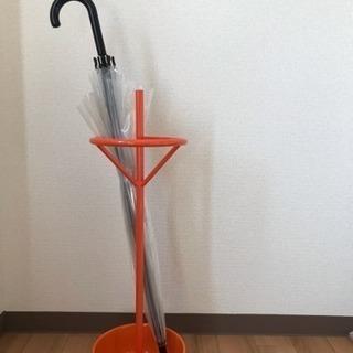【商談中】アスプルンド 傘立て オレンジ