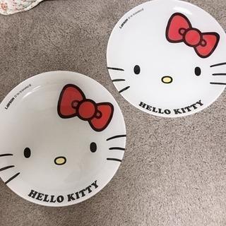キティちゃんプレート2枚セット