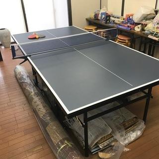 【中古】INGNO 卓球台家庭用サイズ