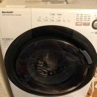 SHARP ドラム式洗濯乾燥機 ES-S60 プラズマクラスター