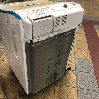 National 全自動洗濯機 7kg 無料 0円 - 家電