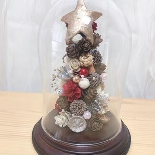 木の実のクリスマスツリー作成