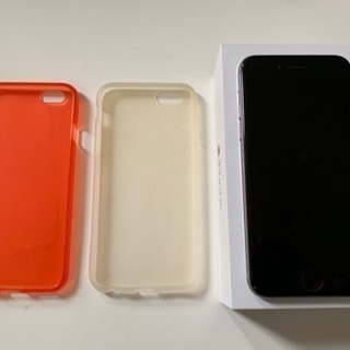 iPhone6 64GB au 付属品未使用 ケース2 ワイヤレ...