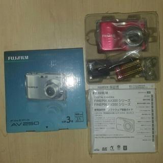 新品 フジフイルム FinePix AV250♪デジタルカメラ