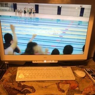 ※値下げ※FUJITSU デスクトップパソコン テレビ見れます