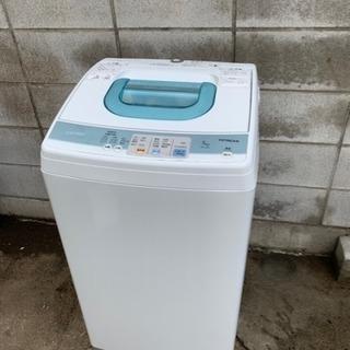 2010年製日立全自動洗濯機5キロ