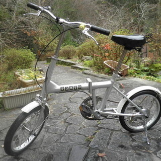 ジャンク!折りたたみ自転車