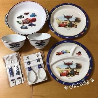 【used&未使用】Disney cars お食事セット