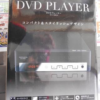 【J-1043】 アズマ DVDプレーヤー DV-C1808-K