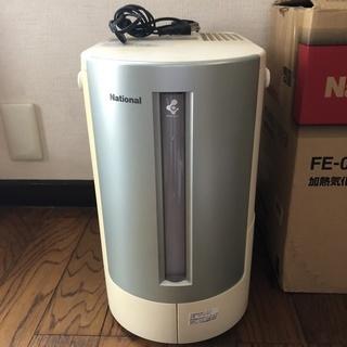 中古 ナショナル 加湿器 FE-07KLY グリーン
