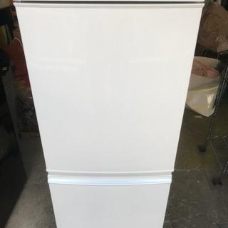 冷蔵庫 シャープ 2015年 137L 2ドア 1人暮らし SJ-...
