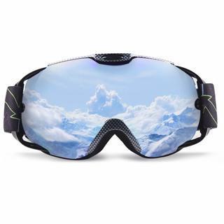 スノーゴーグル マグネット式 紫外線カット