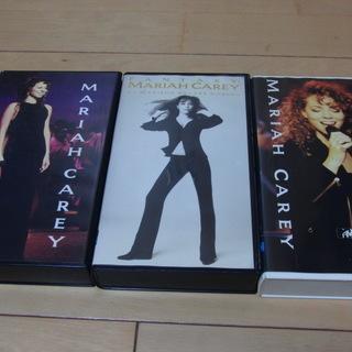 マライア・キャリー VHS3本セットで!