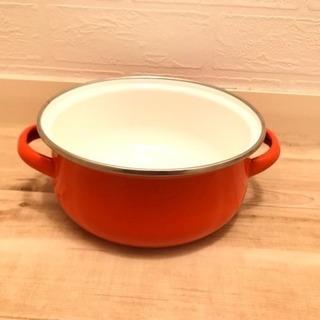 ホーロー鍋 2個