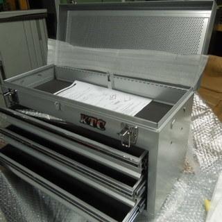 KTC 3段ツールケース 未使用 工具箱
