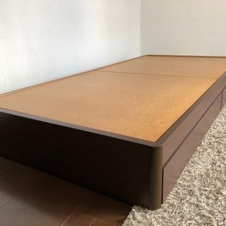 フランスベッド ベッドフレーム シングル